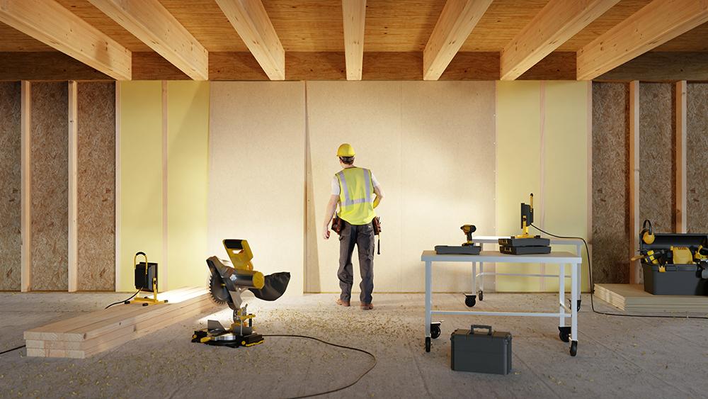 carpenter interior construction work