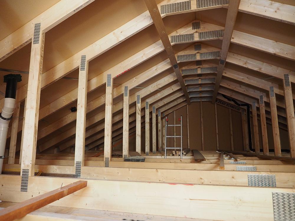 Innenausbau eines Neubaus